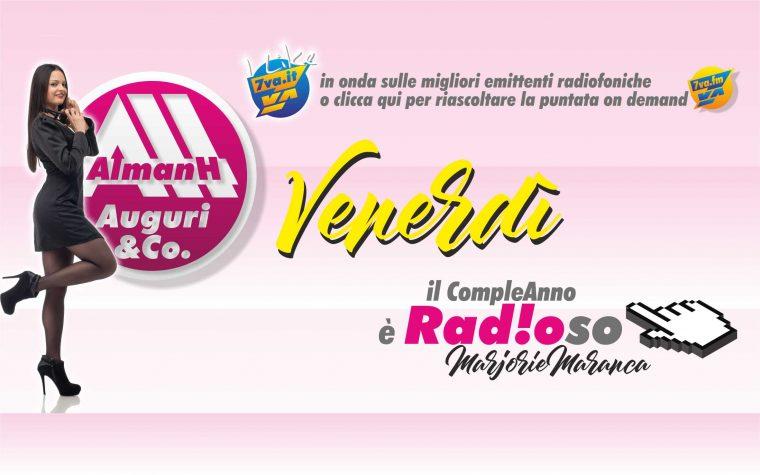 AlmanH del Venerdì in Radio