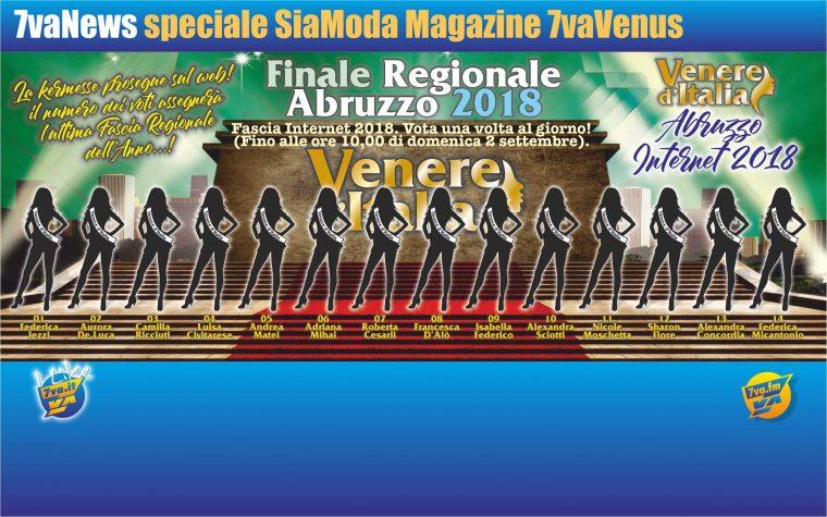 Venere d'Italia Abruzzo – Fascia Internet 2018