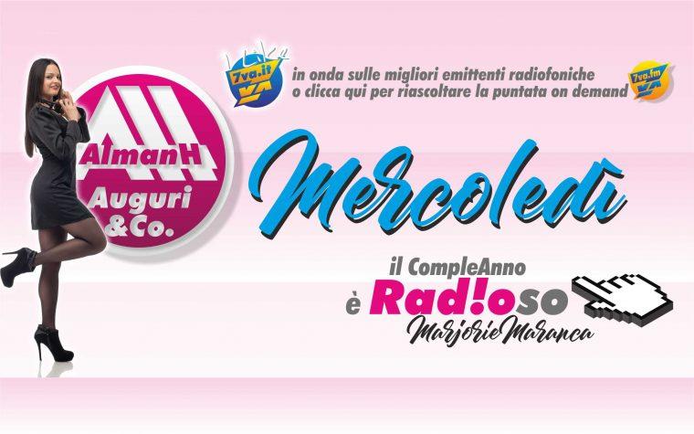 AlmanH in Radio del Mercoledì