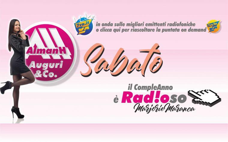 AlmanH in Radio del Sabato