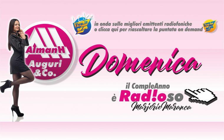 AlmanH in Radio della Domenica