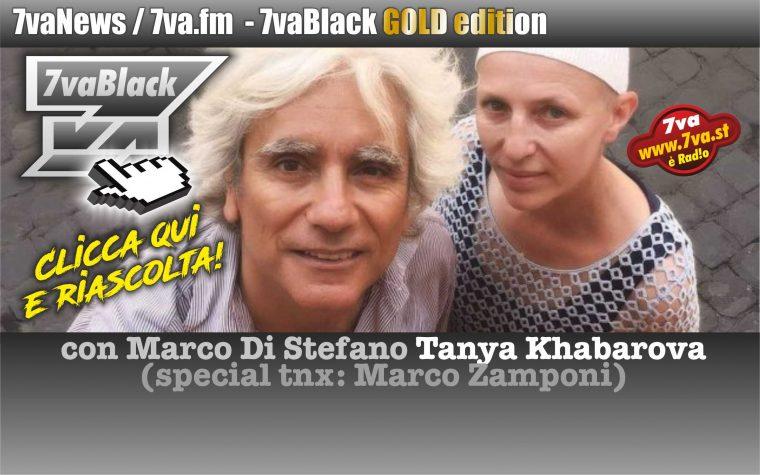 Tanya Khabarova in 7vaBlack Gold edition