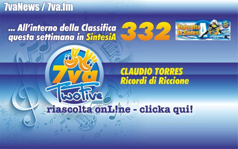 332a CLAUDIO TORRES Ricordi di Riccione