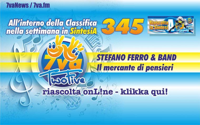 345a STEFANO FERRO & BAND Il mercante di pensieri
