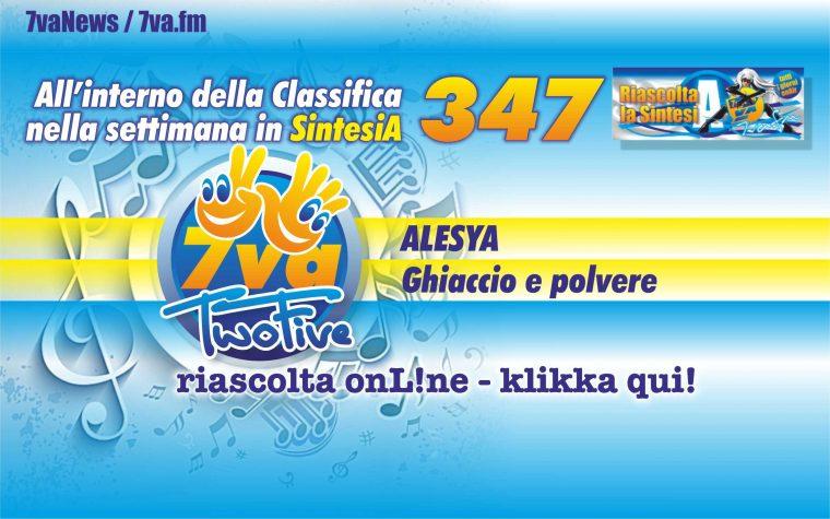347a ALESYA Ghiaccio e polvere