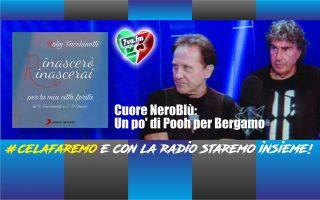 Cuore NeroBlù: Un po' di Pooh per Bergamo