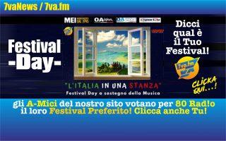 Un giorno di Musica al focus; il 30 aprile: Festival Day!