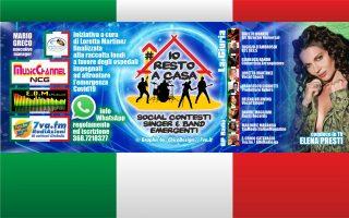 """""""Io Resto a Casa"""" diventa un contest - Mario Greco e Loretta Martinez con NCGtv e 7va.fm"""