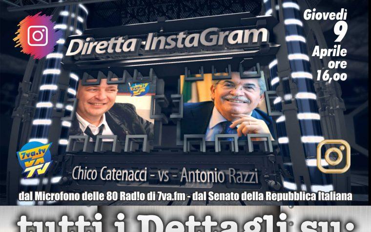 PUGNI di PAROLE – Chico Catenacci vs Antonio Razzi