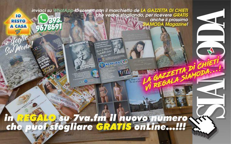 La Gazzetta di Chieti REGALA SiaModa Magazine…!