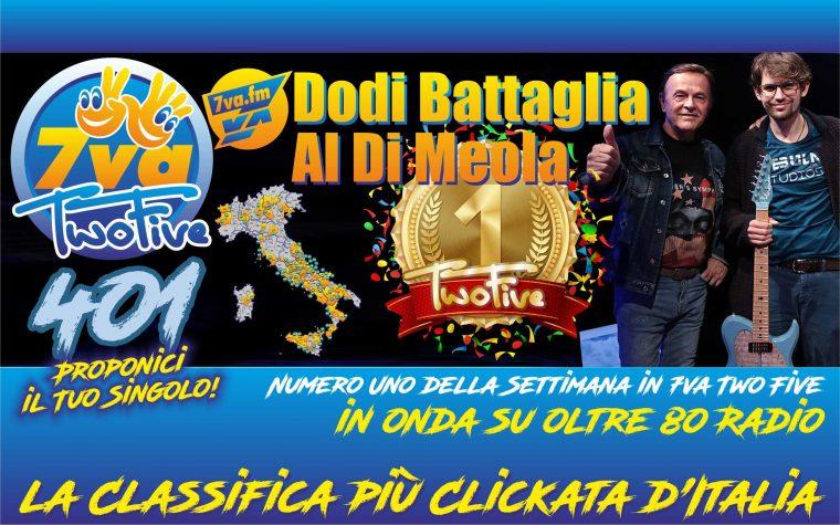 DODI BATTAGLIA – AL DI MEOLA – Oro in TwoFive 401