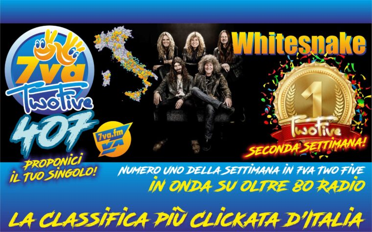 WHITESNAKE – Oro in TwoFive 407 (2nd week)