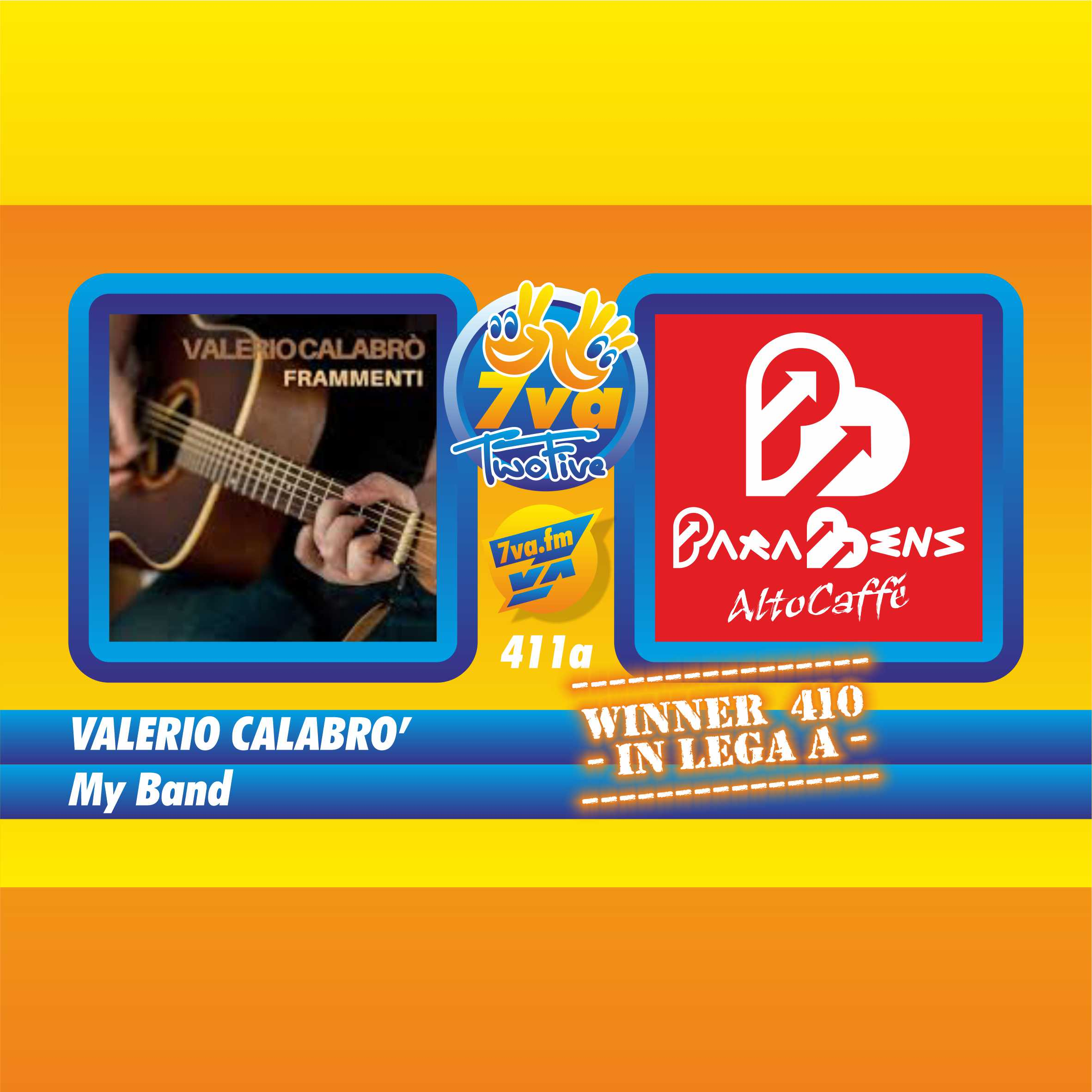 VALERIO CALABRO' - My Band - in TwoFive