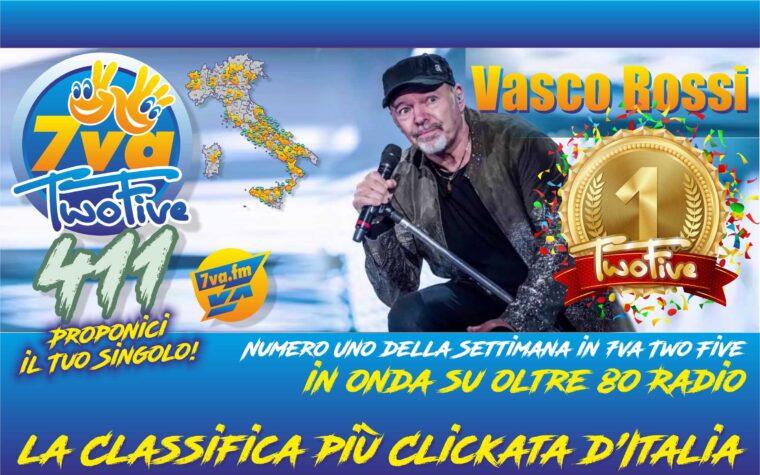 VASCO ROSSI – Oro in TwoFive 411