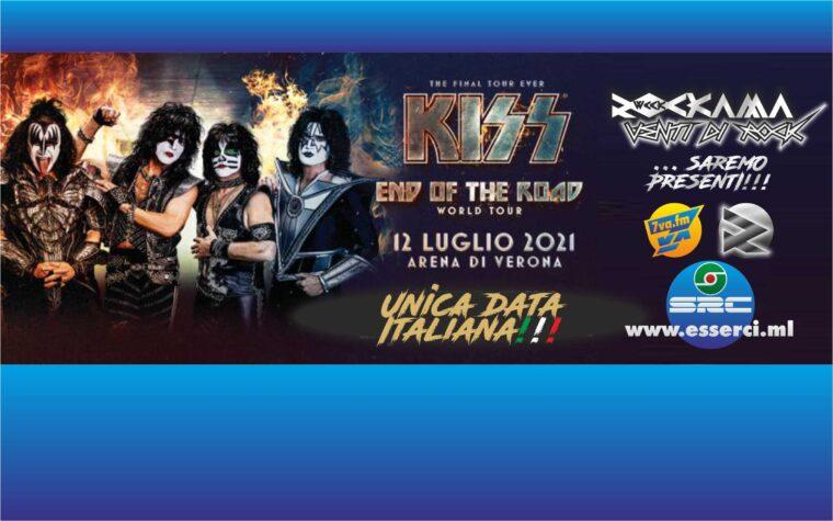 KISS a Verona! Si avvicina l'unica data Italiana dell'Addio!
