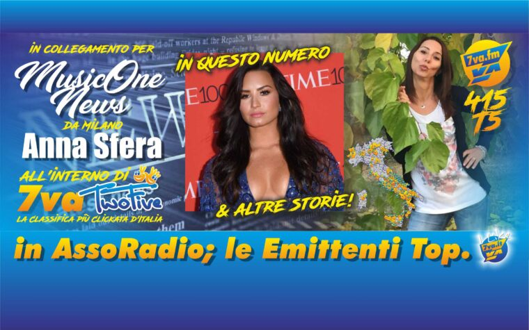 DEMI LOVATO in MusicOne News by TwoFive415