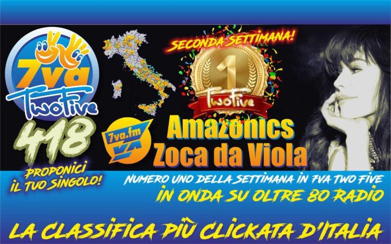 AMAZONICS e ZOCA DA VIOLA – Oro in TwoFive 418 (2nd week)