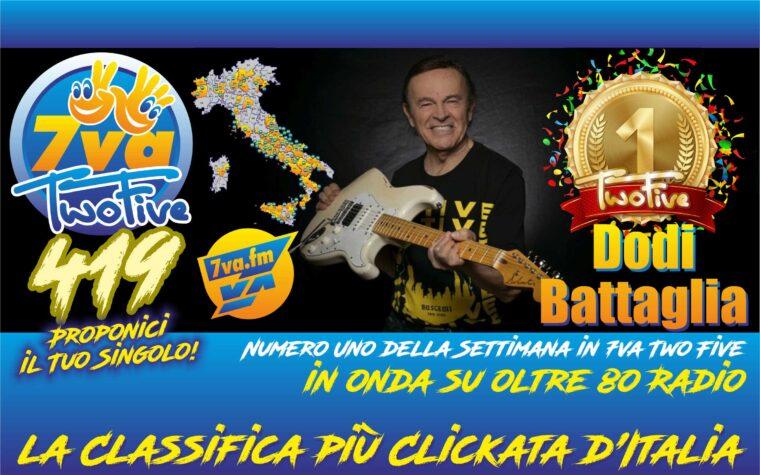 DODI BATTAGLIA – Il coraggio di vincere – Oro in TwoFive 419