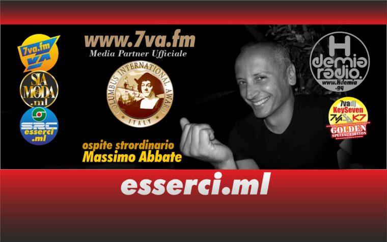 Massimo Abbate ospite K7 Golden Edition