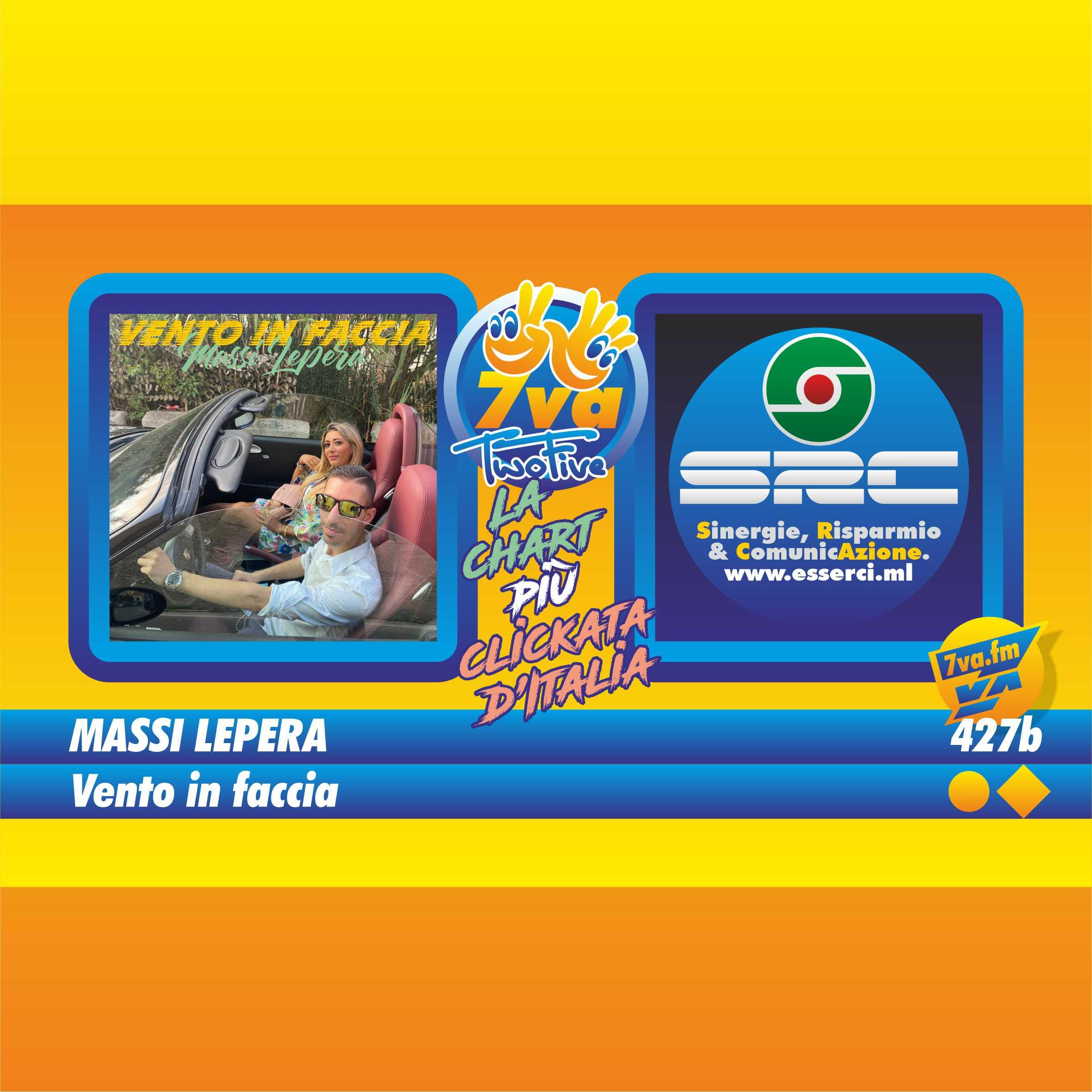 427b MASSI LEPERA - Vento in faccia - in TwoFive