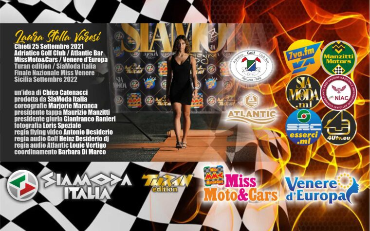 "Venere d'Europa do Brasil! Al Golf Club Adriatico ed all'Atlantic Bar Fascia ""Green"" Aura Formazione Estetica per Laura Stella Varesi"